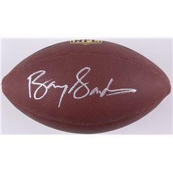 Barry Sanders Signed NFL Football (Schwartz COA)