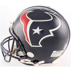David Carr Signed Texans Full-Size Authentic On-Field Helmet (JSA COA)