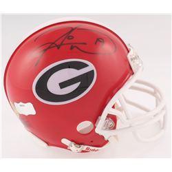 Hines Ward Signed Georgia Bulldogs Mini Helmet (Radtke COA)