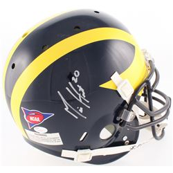 Mike Hart Signed Michigan Wolverines Full-Size Authentic On-Field Helmet (JSA COA)