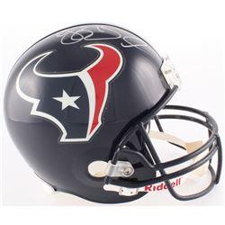 Reggie Bush Signed Texans Full-Size Helmet (PSA COA)