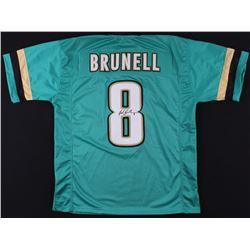 Mark Brunell Signed Jaguars Jersey (JSA COA)