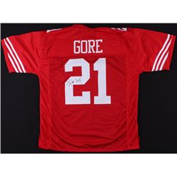 Frank Gore Signed 49ers Jersey (JSA COA)
