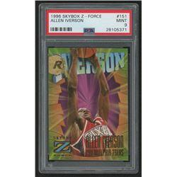 1996-97 Z-Force #151 Allen Iverson RC (PSA 8)