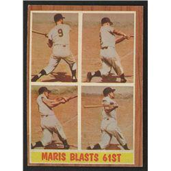 1962 Topps #313 Roger Maris IA