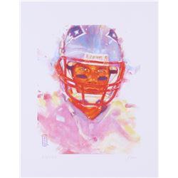 John Yim - Tom Brady Patriots 11x14 Signed Limited Edition Fine Art Print #/100
