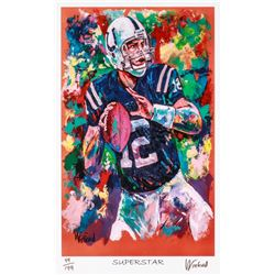 "Peyton Manning Colts ""Superstar"" 11x17 Signed Winford Limited Edition Lithograph #49/199 (Winford CO"