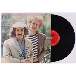 "Art Garfunkel Signed Simon  Garfunkel ""Simon and Garfunkel's Greatest Hits"" Vinyl Record Album (JSA"