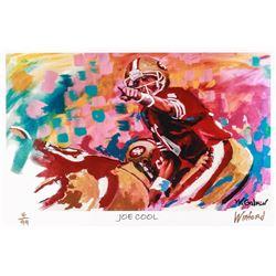 "Joe Montana 49ers ""Joe Cool"" 11x17 Signed Winford Limited Edition Lithograph #4/199 (Winford COA)"