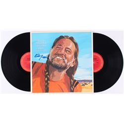 "Willie Nelson Signed ""Willie Nelson's Greatest Hits ( Some That Will Be)"" Vinyl Record Album (JSA CO"
