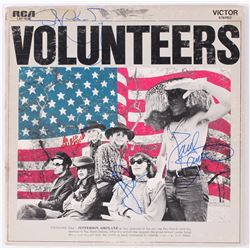 "Jefferson Airplane ""Volunteers"" Vinyl Record Album Signed by (4) With Grace Slick, Paul Kantner, Jor"