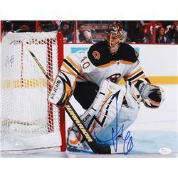 Charlie McAvoy Signed Bruins 11x14 Photo (JSA COA)