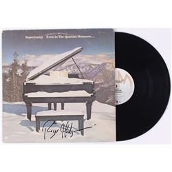 "Roger Hodgson Signed Supertramp ""Even in the Quietest Moments..."" Vinyl Record Album (JSA COA)"