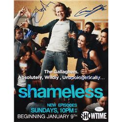 Shameless 11x14 Photo Signed By (5) With Cameron Monaghan, Steve Howey, Jeremy White, Emmy Rossum (J