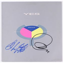 "Jon Anderson  Chris Squire Signed Yes ""90125"" Vinyl Record Album (JSA COA)"