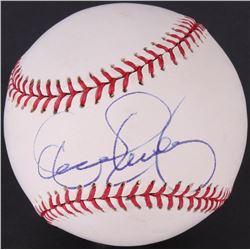 Dennis Eckersley Signed OML Baseball (JSA COA)