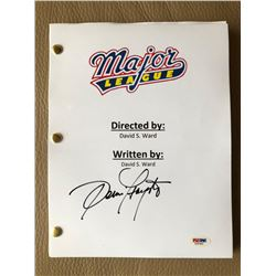 "Dennis Haysbert Signed ""Major League"" Full Movie Script (PSA COA)"