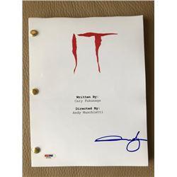 "Andrew Muschietti Signed ""IT"" Full Movie Script (PSA COA)"