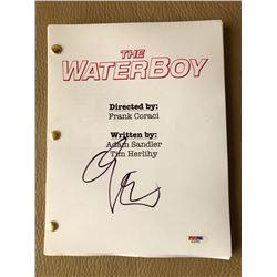 "Adam Sandler Signed ""The Waterboy"" Full Movie Script (PSA COA)"