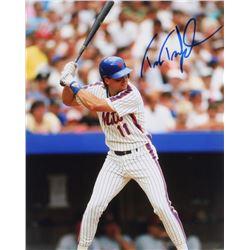 Tim Teufel Signed Mets 8x10 Photo (PA LOA)
