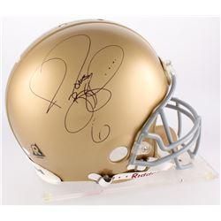 Jerome Bettis Signed Notre Dame Fighting Irish Authentic On-Field Full-Size Helmet (JSA COA)
