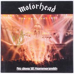 """Lemmy Signed """"Motorhead"""" Vinyl Record Album (JSA ALOA)"""