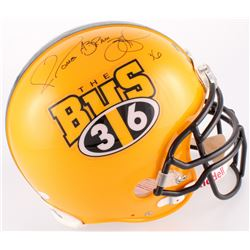 """Jerome Bettis Signed Steelers """"The Bus"""" Authentic On-Field Full-Size Helmet With Full Name Signature"""