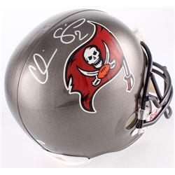 Chris Simms Signed Buccaneers On-Field Full-Size Helmet (Radtke COA)