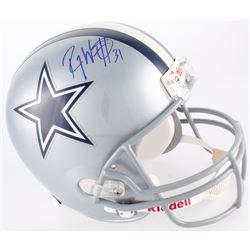 Roy Williams Signed Cowboys Full-Size Helmet (JSA COA)