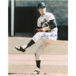 Gary Gentry Signed Mets 8x10 Photo (PA LOA)