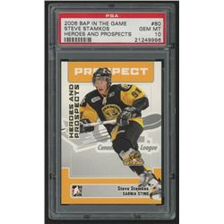 2006-07 ITG Heroes and Prospects #80 Steven Stamkos (PSA 10)