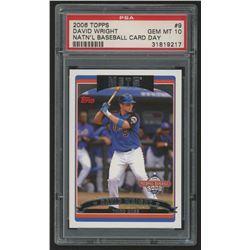 2006 Topps National Baseball Card Day #9 David Wright (PSA 10)