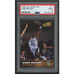 1996-97 Score Board All Sport PPF #11 Kobe Bryant (PSA 9)