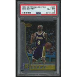 1996-97 Bowman's Best #R23 Kobe Bryant RC (PSA 8)