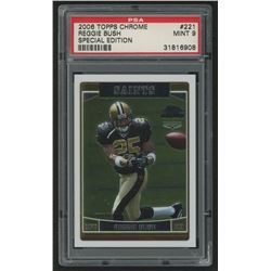 2006 Topps Chrome #221 Reggie Bush RC (PSA 9)