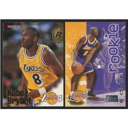 Lot of (2) Kobe Bryant Cards with 1996-97 SkyBox Premium #203   1996-97 Hoops #281 RC