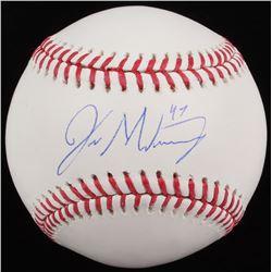 Jordan Montgomery Signed OML Baseball (MAB Hologram)