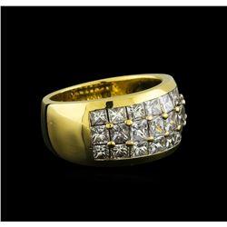 3.00 ctw Diamond Ring - 14KT Yellow Gold
