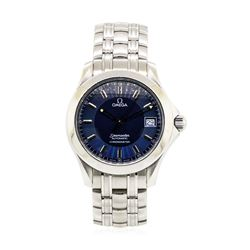 Omega Seamaster Wristwatch - Stainless Steel