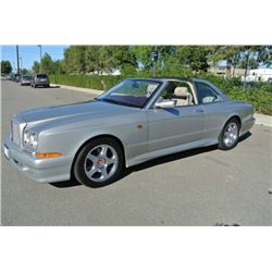 1999 Silver Pearl Bentley Continental SC