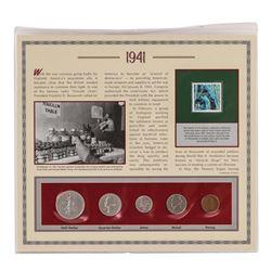 1941 (5) Coin Set