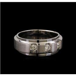 14KT White Gold 0.43 ctw Diamond Ring
