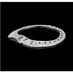 0.30 ctw Diamond Tacori Side Band - Platinum