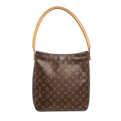 Louis Vuitton Monogram Canvas Leather Looping GM Shoulder Bag