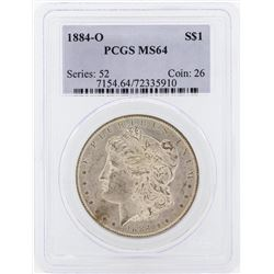 1884-O $1 Morgan Silver Dollar Coin PCGS MS64