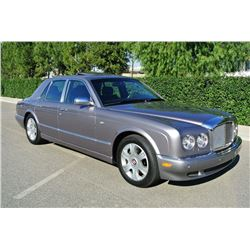 2006 Silver Bentley Arnage R