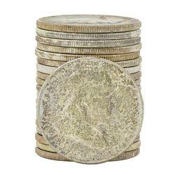 Roll of (20) 1954 Brilliant Uncirculated Franklin Half Dollar Coins