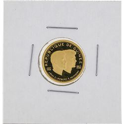 1958 - 1968 Guinea 1000 Francs Gold Coin