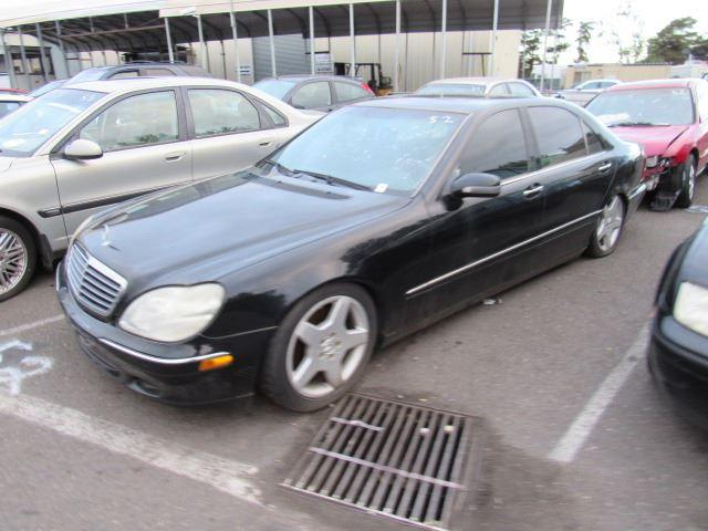 Image 1 : 2001 Mercedes Benz S500 ...