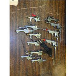 Lot of Pneumatic Air Guns